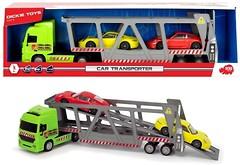 Фото Dickie Toys Трейлер с 2 машинками (3747005)