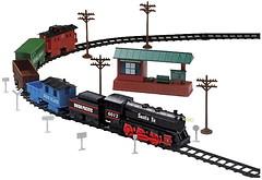 EZ-Tec Стартовый набор: Santa Fe Special Train (63080)