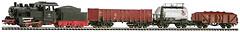 PIKO Стартовый набор: Паровоз с грузовым составом (57160)