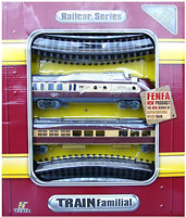 Fenfa Стартовый набор: Паровоз с вагоном (1601B-5B)