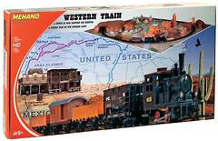 Фото Mehano Стартовый набор: Western Train (T109)