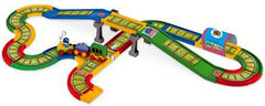Wader Железная дорога Kid Cars 4.1 м (51711)
