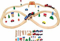 Viga Toys Железная дорога (56304)