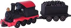 Фото Jazwares Локомотив Пит с вагоном для угля (JW38500/38506)