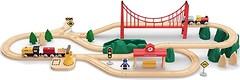 Фото Xiaomi Mitu Toy Train Set 63 Pcs