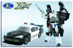 Фото Happy Well X-Bot Полиция (80030)