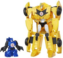 Фото Hasbro Transformers RID Combiner Force Activator Combiners Bumblebee And Stuntwing (C0653/C0654)