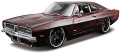 Maisto (1:25) 1969 Dodge Charger R/T (31091)
