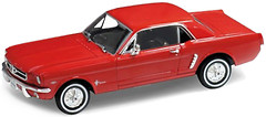 Фото Welly (1:24) 1964 Ford Mustang Coupe (22451W)