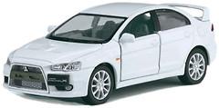 Kinsmart (1:36) Mitsubishi Lancer Evolution X (KT5329W)
