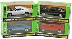 Die-Cast (1:32) 1970 Dodge Charger RT Автопром (32011)