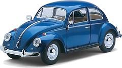 Фото Kinsmart (1:24) 1967 Volkswagen Classical Beetle (KT7002W)