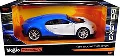 Maisto (1:24) Bugatti Chiron (32509)