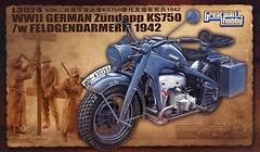 Фото Great Wall Hobby Motorcycle Zundapp KS 750 (L3524)