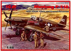 Фото ICM Mustang P-51B (48125)