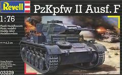 Фото Revell PzKpfw II Ausf. F (RV03229)