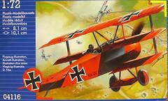 Фото Revell Fokker Dr.I Triplane (RV04116)