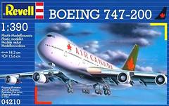 Revell Boeing 747-200 Air Canada (RV04210)