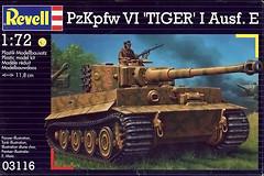 Фото Revell PzKpfw VI Tiger I Ausf. E (RV03116)