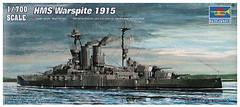 Фото Trumpeter HMS Warspite 1915 (TR05780)