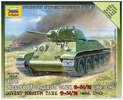Zvezda Советский танк Т-34/76 (ZVE6101)