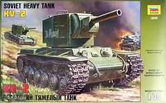 Zvezda Советский танк КВ-2 (ZVE6202)