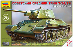Zvezda Советский танк Т-34/76 (ZVE5001)
