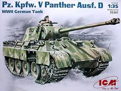 ICM Pz.Kpfw.V Panther Ausf.D (35361)