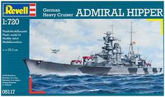 Фото Revell German Heavy Cruiser Admiral Hipper (RV05117)