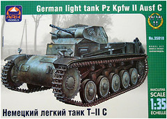 Фото ARK Models German Light Tank Pz Kpfw II Ausf C (AK35018)