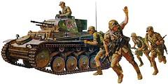 Фото Tamiya Panzerkampfwagen II Ausf. F/G (TAM35009)