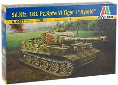 Italeri Sd.Kfz. 181 PzKpfw VI Tiger I Hybryd (6487)