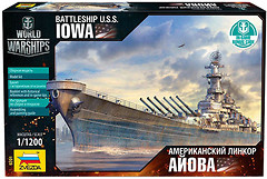 Zvezda Американский линкор Айова (ZVE9201)