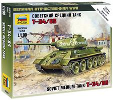 Zvezda Танк Т-34/85 (ZVE6160)