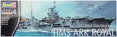 Фото Revell HMS Ark Royal & Tribal Class Destroyer 1:720 (RV05149)