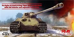 Фото ICM Pz.Kpfw.VI Ausf.B King Tiger (ICM35364)