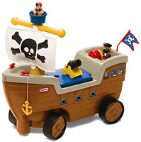 Little Tikes Каталка Пиратский корабль (622113)