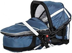 TFK MultiX Carrycot carbo/steel blue