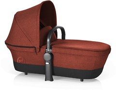 Cybex Priam Carrycot  RB Autumn Gold Burnt Red