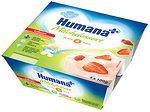 Фото Humana Продукт кисломолочный Клубника с пребиотиками 4x100 г