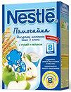 Фото Nestle Каша молочная Помогайка йогуртная 3 злака груша-яблоко 200 г
