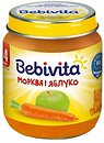 Фото Bebivita Пюре Морковь и яблоко 125 г