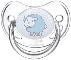 Canpol babies Пустышка силиконовая анатомическая Transparent 18+ мес. (22/513)