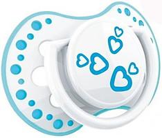 Фото Canpol babies Пустышка силиконовая динамическая Lovi Basic 0-3 мес., 2 шт. (22/803)