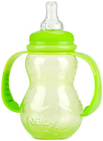 Nuby Полипропиленовая бутылочка со стандартным горлом 210 мл (1092)