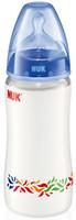NUK Бутылочка First Choice с силиконовой соской 300 мл