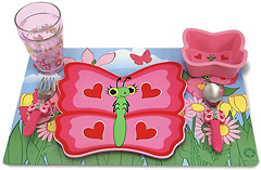Melissa & Doug Набор посуды бабочка Белла (MD6576)