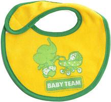Фото Baby Team Нагрудник на липучке (6501)