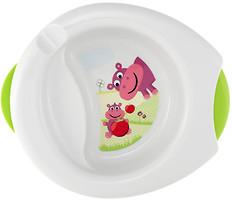 Фото Chicco Термоустойчивая тарелка Stay Warm (06826.00)