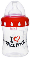 Bibi Бутылочка пластиковая I Love mama 3-в-1 250 мл